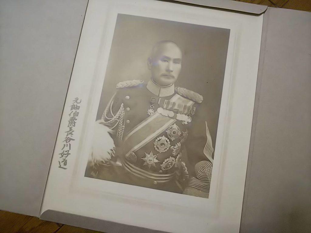 【古写真の調査後売却】陸軍大将・長谷川好道