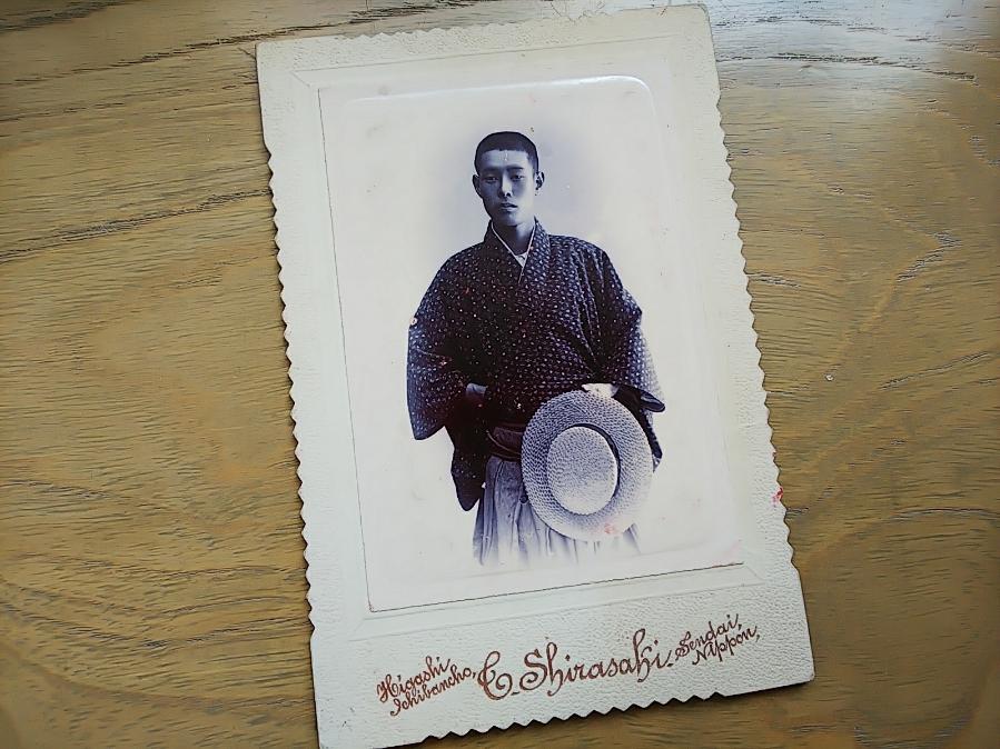 坂本龍馬の親友・藤田栄馬肖像写真