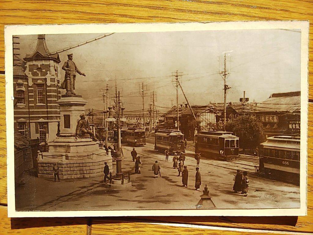 神田須田町・万世橋鶏卵紙写真