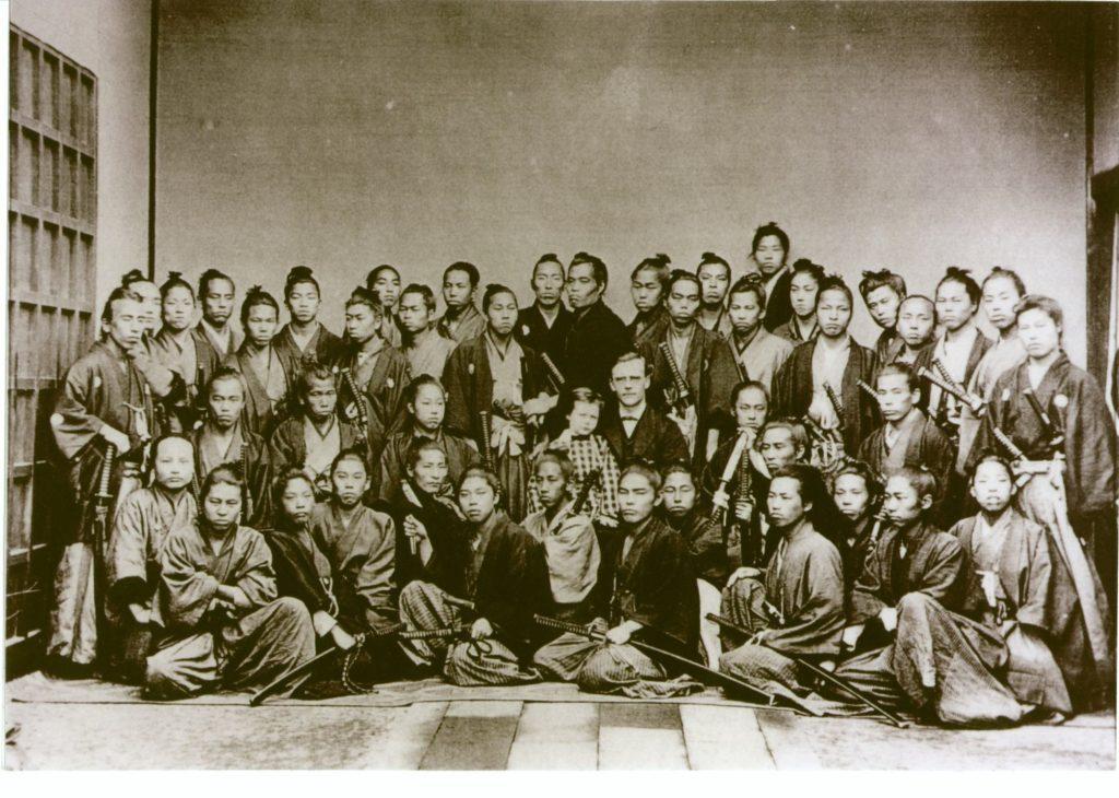古写真関連資料】上野彦馬・フルベッキ群像写真 | 【幕末・明治の写真 ...