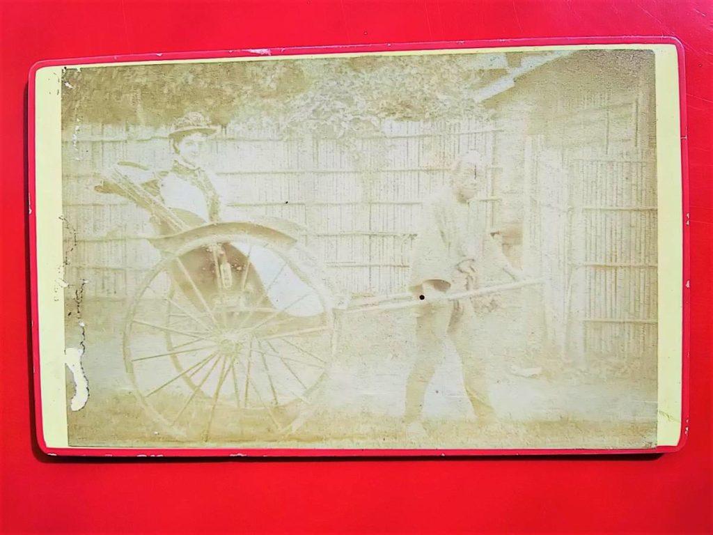 古写真鶏卵紙フローレンス・ピットマン (2)