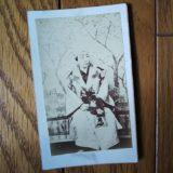 三代目・中村翫雀鶏卵紙古写真