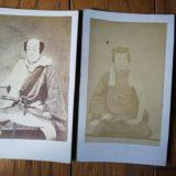 五代目・尾上菊五郎鶏卵紙古写真
