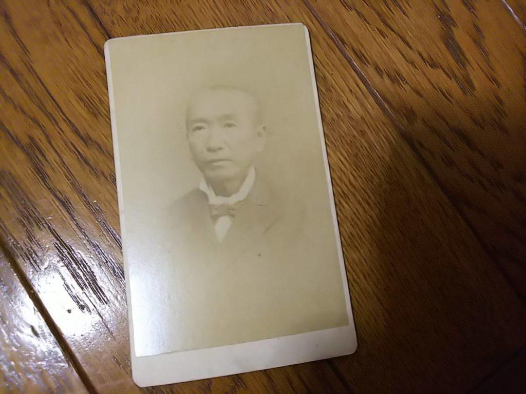 和歌山藩古学館頭取・小中村清矩肖像写真