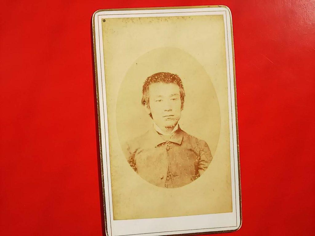 増島六一郎古写真肖像人物