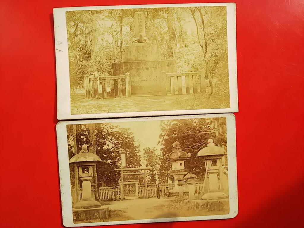 安濃津藩・結城神社鶏卵紙写真