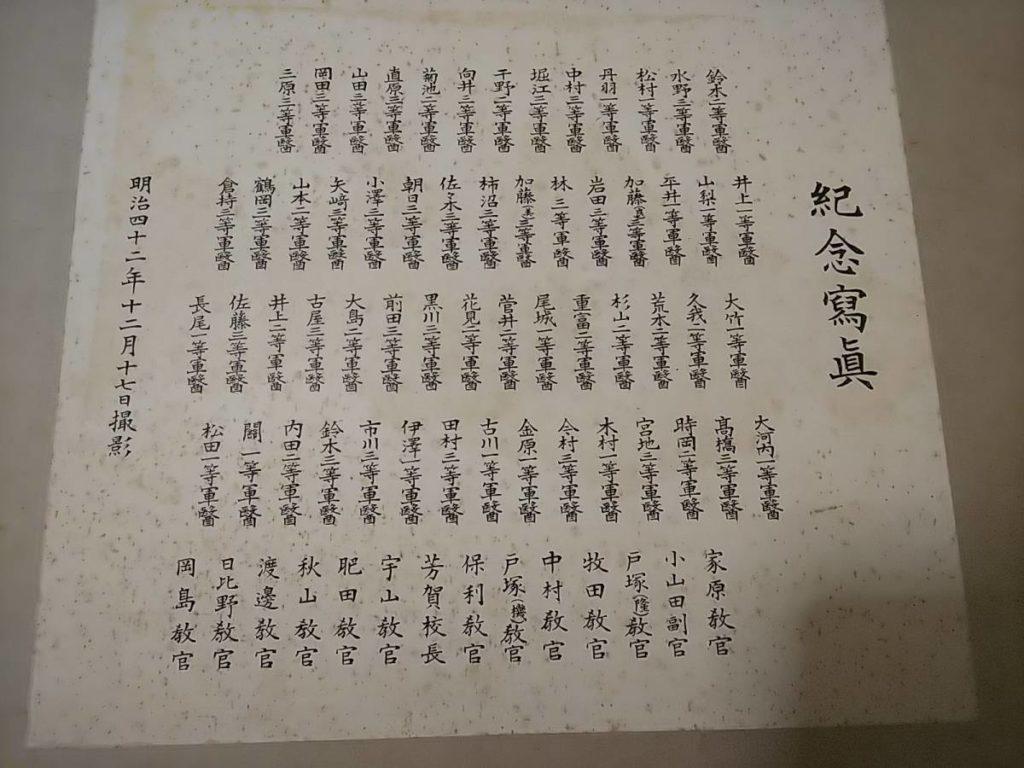小山田繁蔵ほか藩医写真台紙