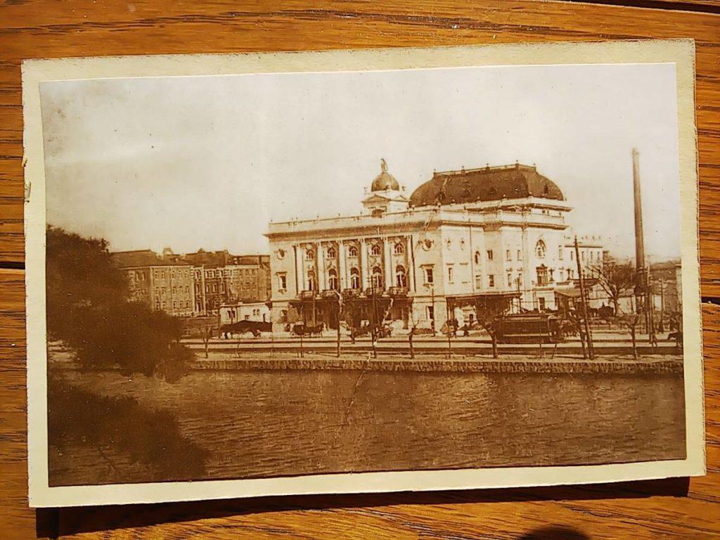 帝国劇場鶏卵紙写真