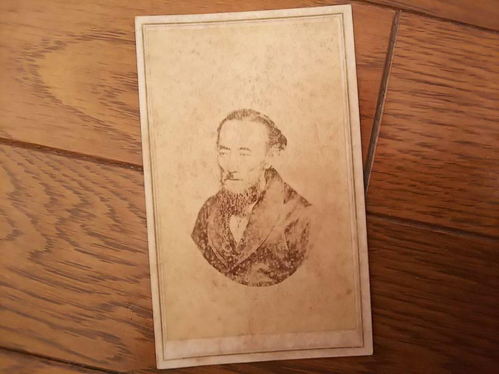幕臣・大久保 一翁鶏卵紙古写真
