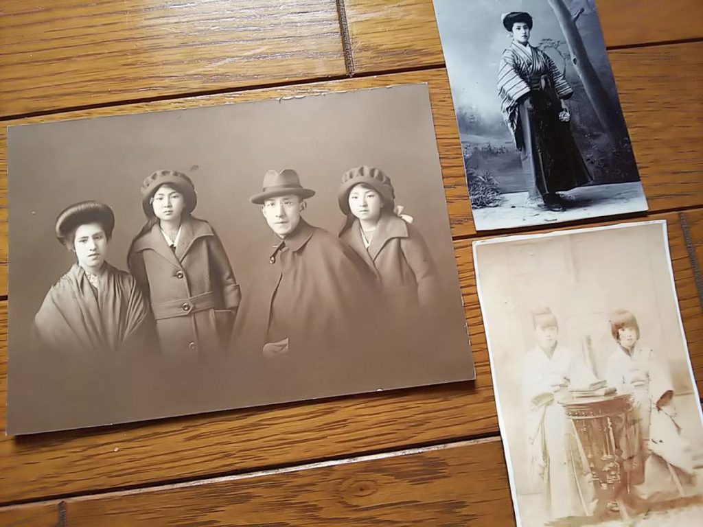 東本願寺・大谷瑩亮と家族古写真