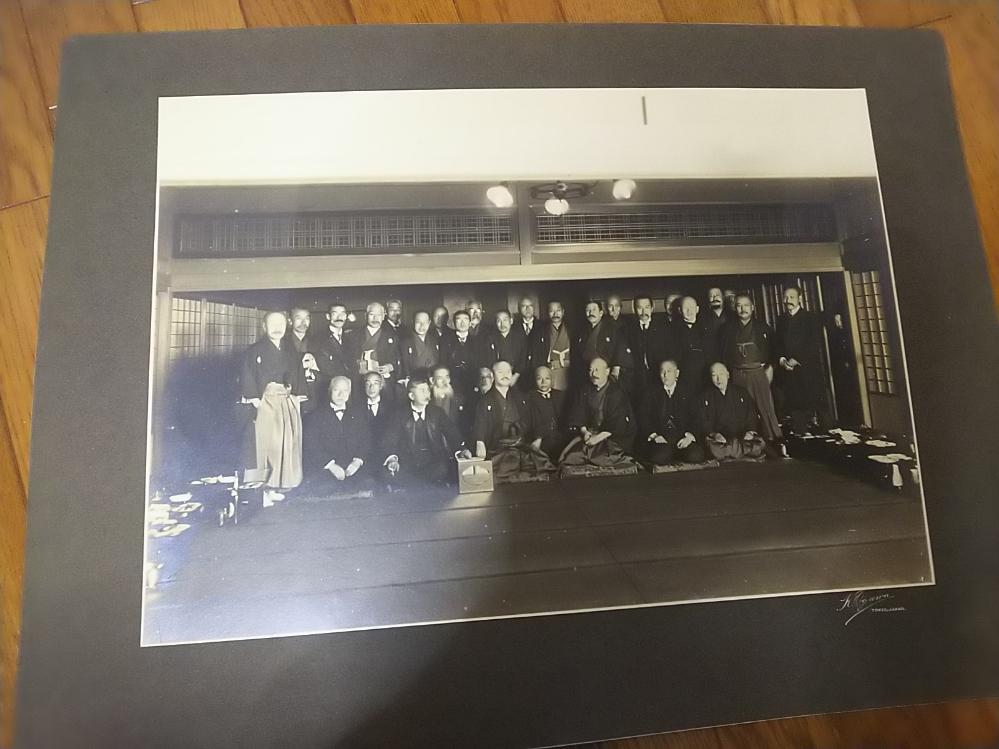 桂太郎肖像写真内閣総理大臣写真師台紙