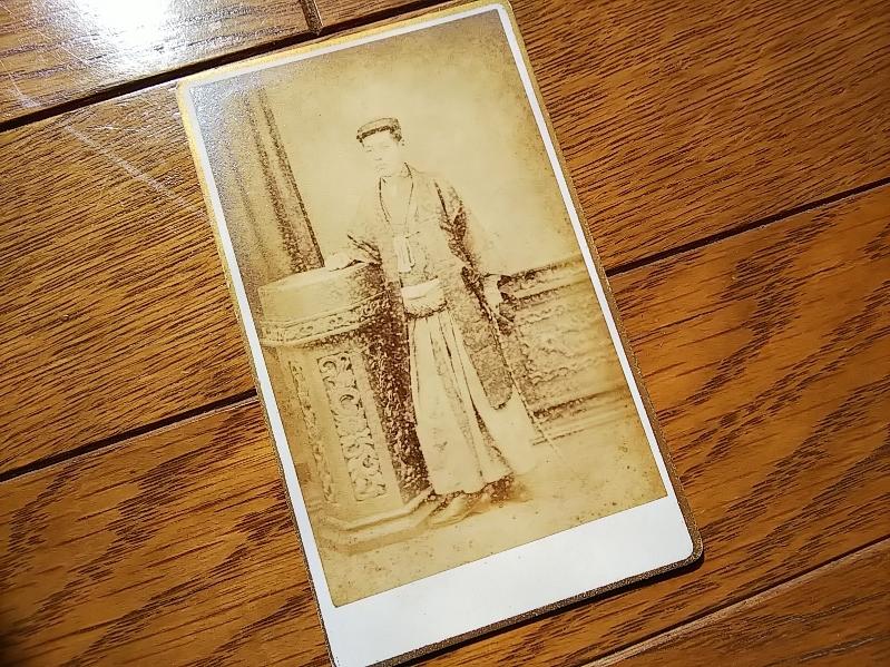添田寿一鶏卵紙古写真