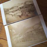 熱海鶏卵紙古写真台紙