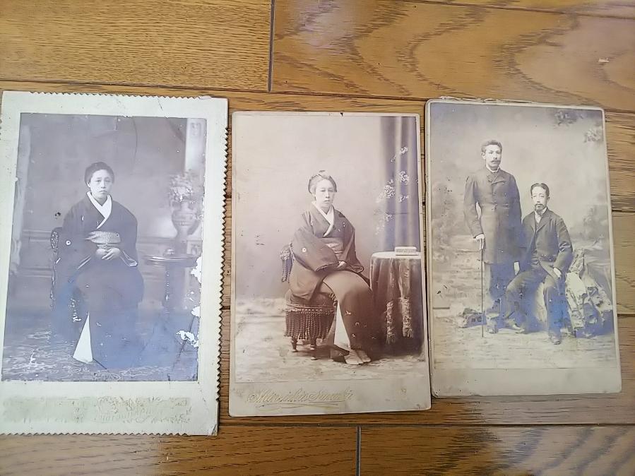 男爵・色部義太夫妻色部類子古写真