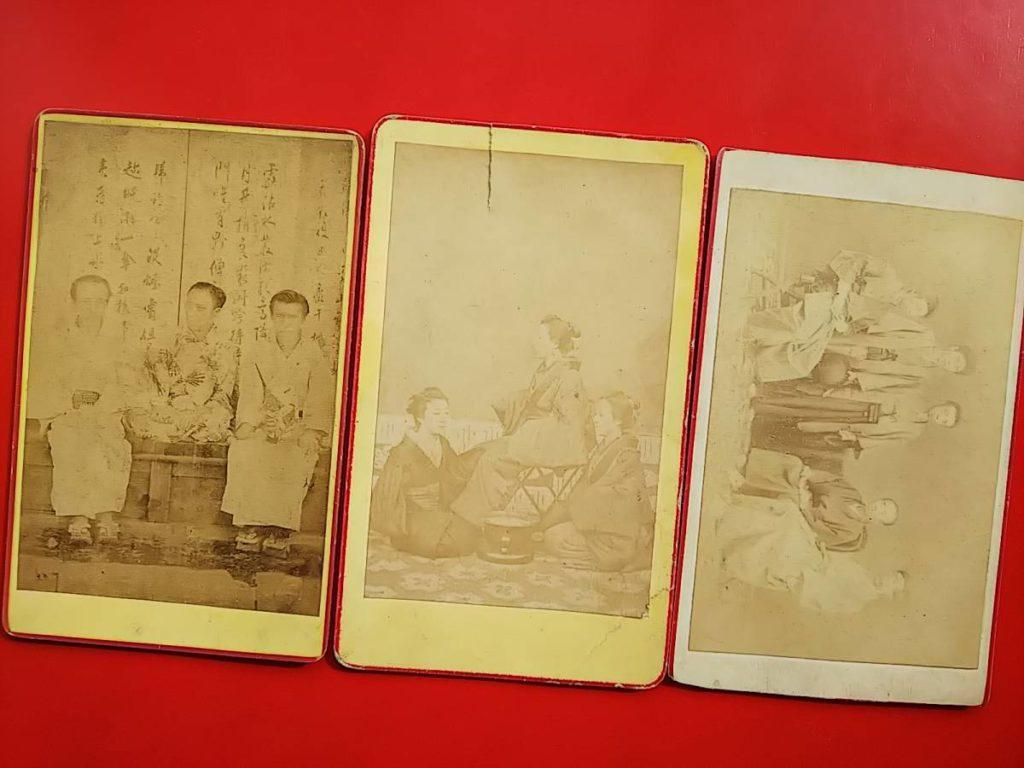 盛岡藩士 一條基緒鶏卵紙写真