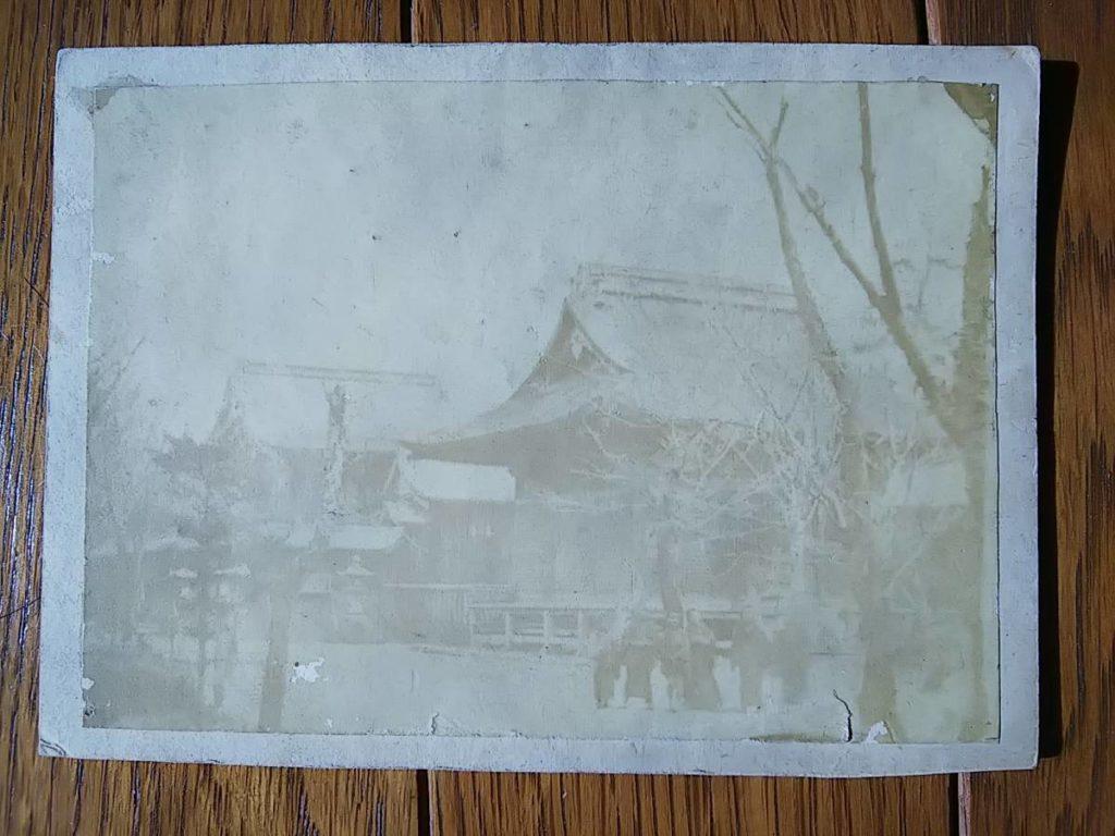 静岡島田・大井神社鶏卵紙写真