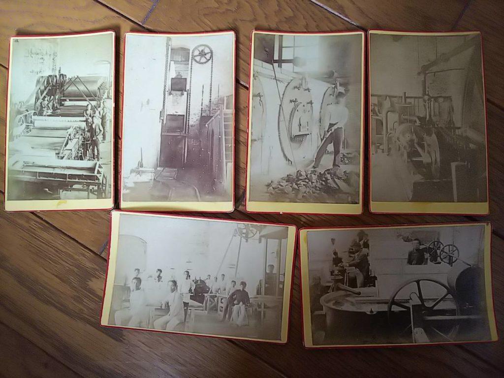 王子製紙古写真台紙創業期