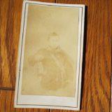 肖像鶏卵紙人物台紙