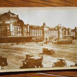 東京駅舎と路面電車