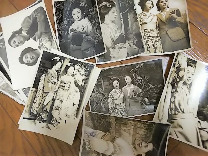 【古写真の調査後売却】昭和スター女優白黒写真ブロマイド