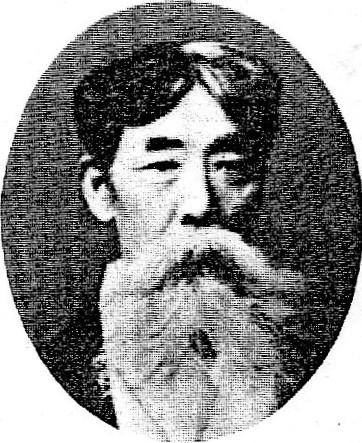 【古写真関連資料】日本のキリスト教牧師・木村 熊二