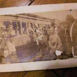 戦時中の上野駅に向かう電車
