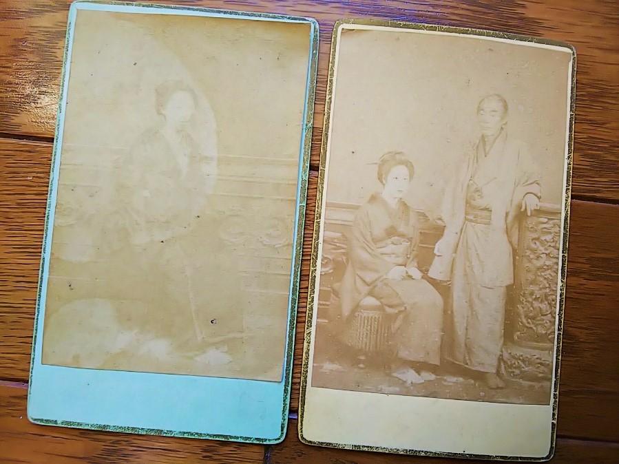 【古写真の調査後売却】内田九一撮影の人物肖像