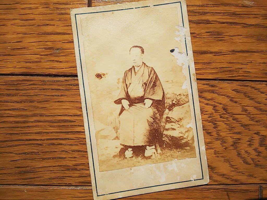 【古写真の調査後売却】壬生藩御典医・松本暢(石崎誠庵)