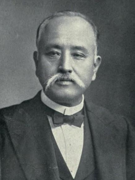 【古写真関連資料】和泉岸和田藩主・岡部長職と、写真師・小川一真