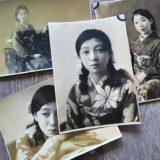 【古写真の調査後売却】美人女性の顔写真(台紙貼付なし、モノクロ)