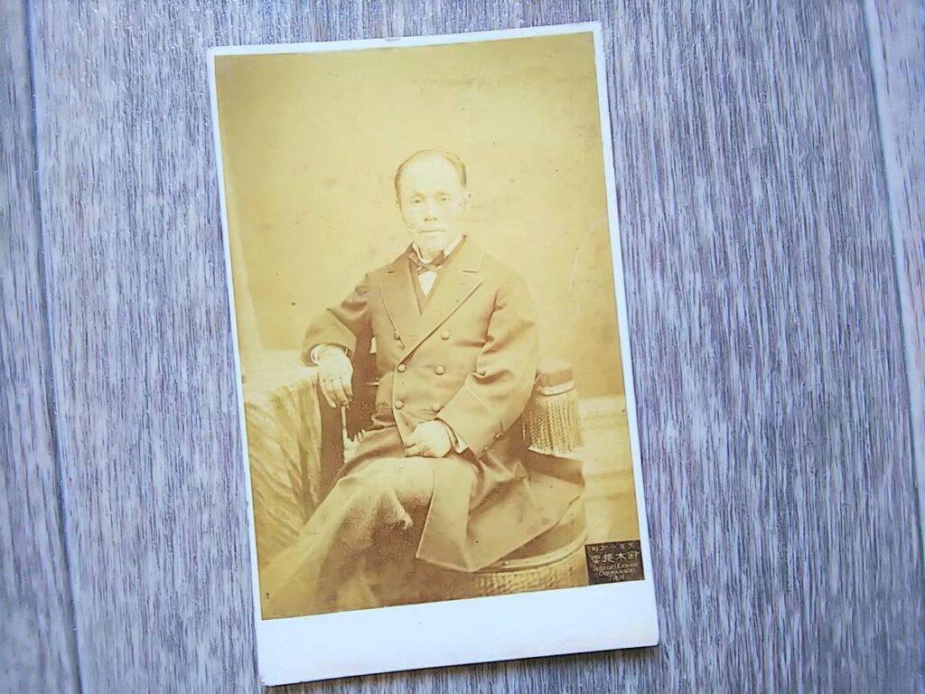 鈴木写真師(鶏卵紙、台紙貼付)
