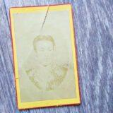 【古写真の調査後売却】薩摩藩唐通事・上野景範の人物肖像(鶏卵紙、台紙貼付)